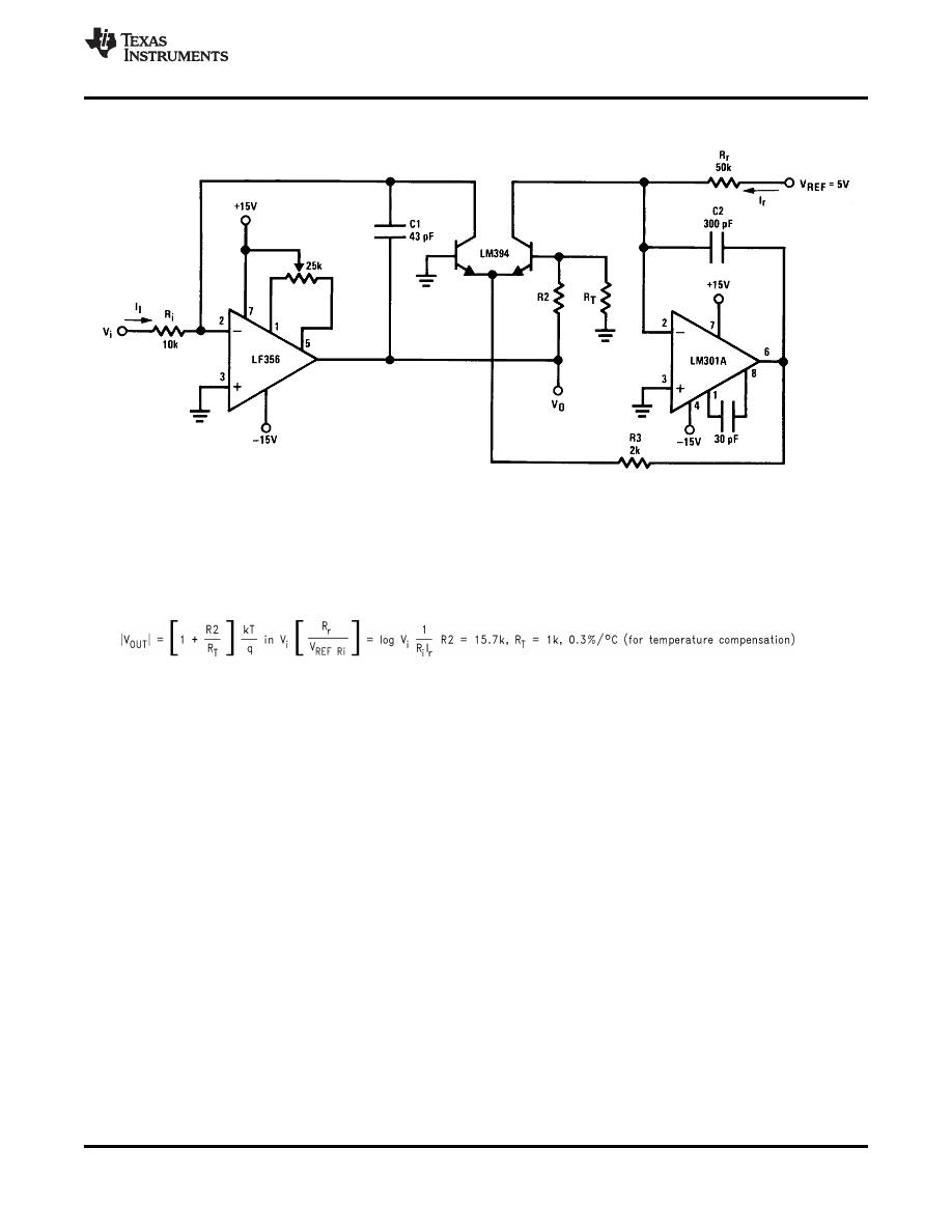caracteristicas tecnicas de lf356