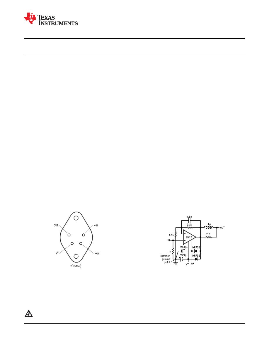 Caracteristicas Tecnicas De Lm12clk Datasheet 3a Switching Power Supply Regulator 5v 10a 50w Offline Background Image