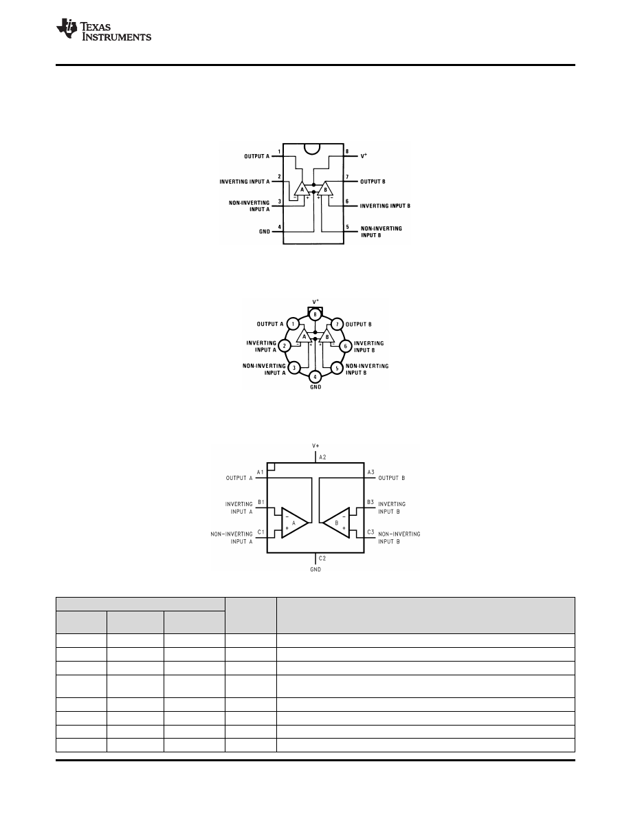 Caracteristicas Tecnicas De Lm258n Datasheet Lm358n Ic Dual Differential Input Operational Amplifiers Background Image