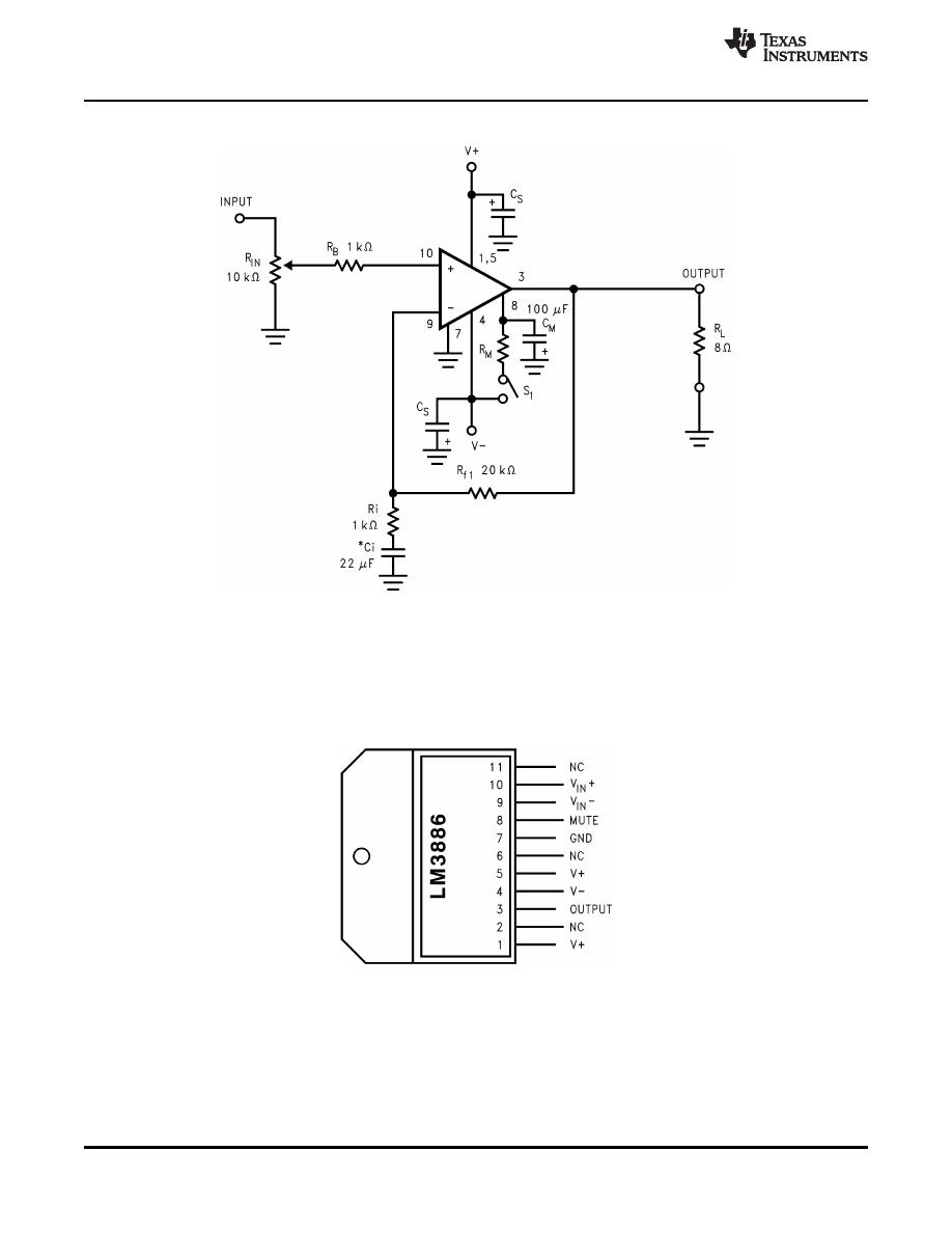 caracteristicas tecnicas de lm3886tf