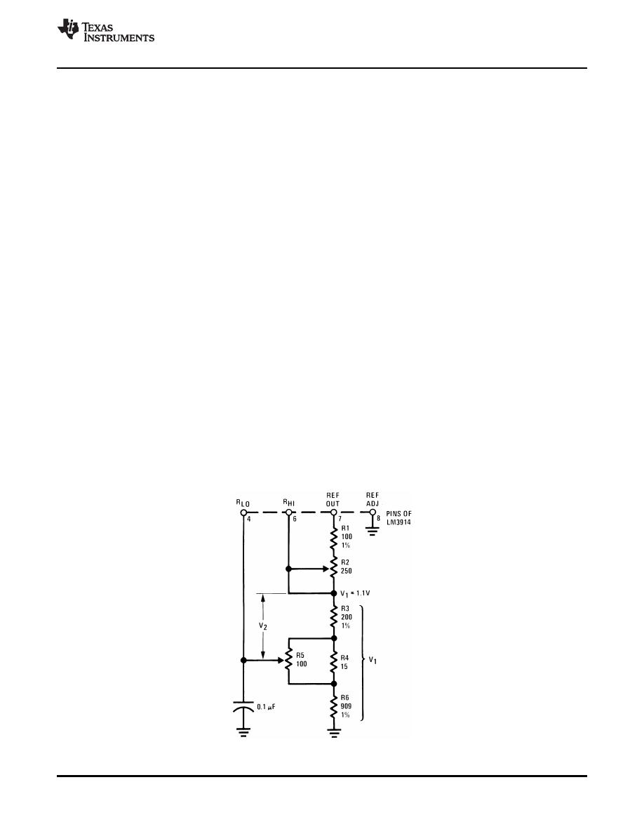 Caracteristicas Tecnicas De Lm3914 Datasheet Basic Circuit For Background Image
