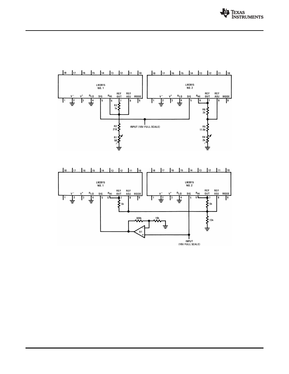 Caracteristicas Tecnicas De Lm3915 Datasheet Vu Meter Circuit Background Image