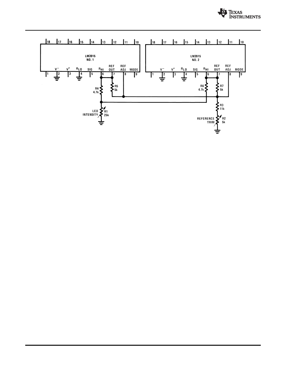 Caracteristicas Tecnicas De Lm3915 Datasheet Led Vu Meter Not Working Properly Electrical Engineering Background Image