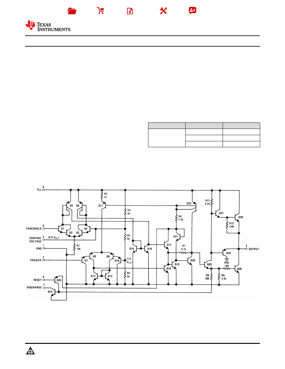 Caracteristicas Tecnicas De Lm555 Datasheet Step 7 555 Timer Astable Mode Duty Cycle Background Image