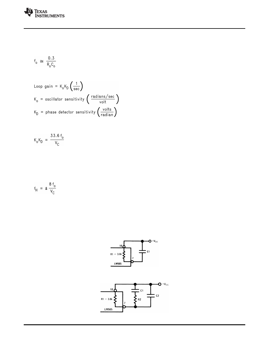 Caracteristicas Tecnicas De Lm565c Datasheet Lm565 Fsk Demodulator Circuit Design Electronic Components Circle Background Image