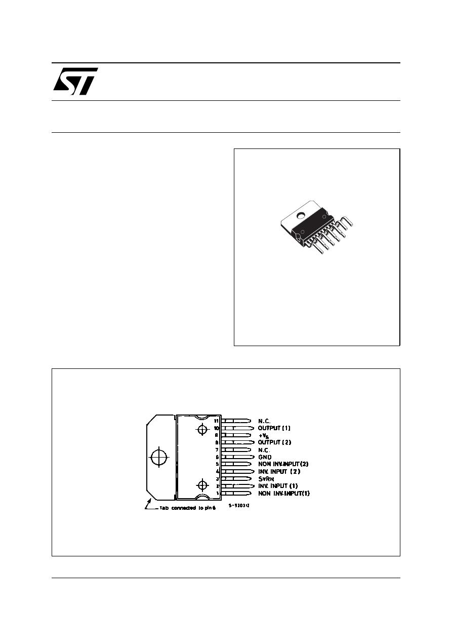 Tda2009 Datasheet Tda2005 Bridge Amplifier 20w Datasheetdatasheets Manu Page210 10w Stereo
