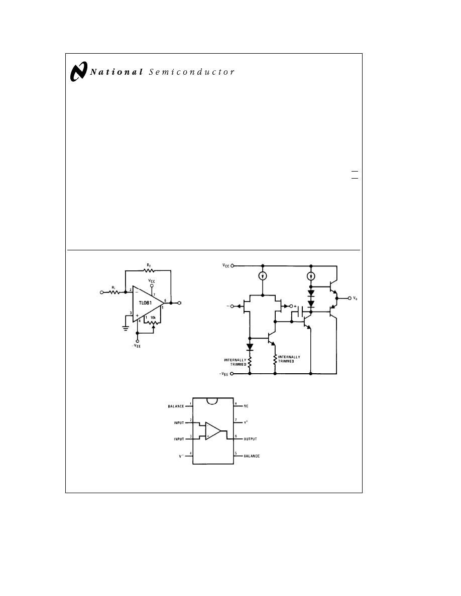 caracteristicas tecnicas de tl081