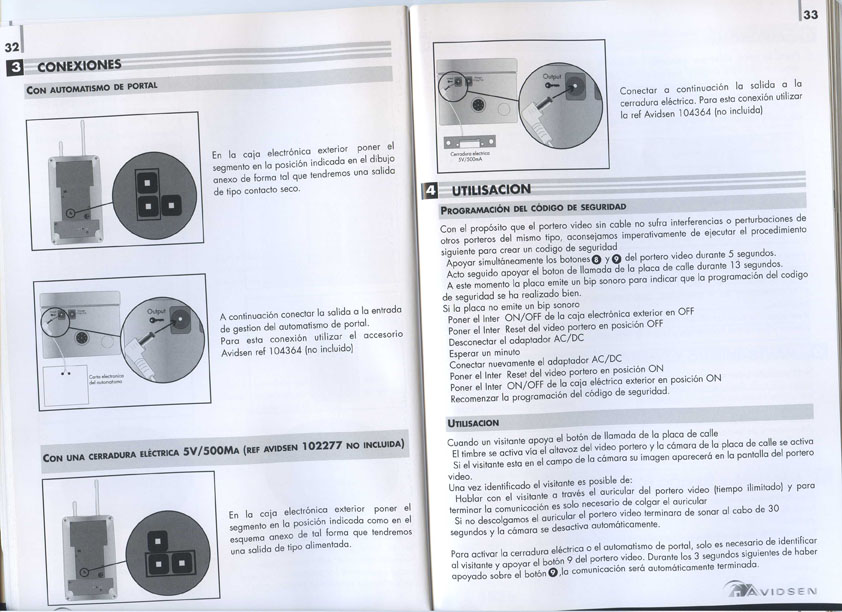 Cerradura electrica para videoportero